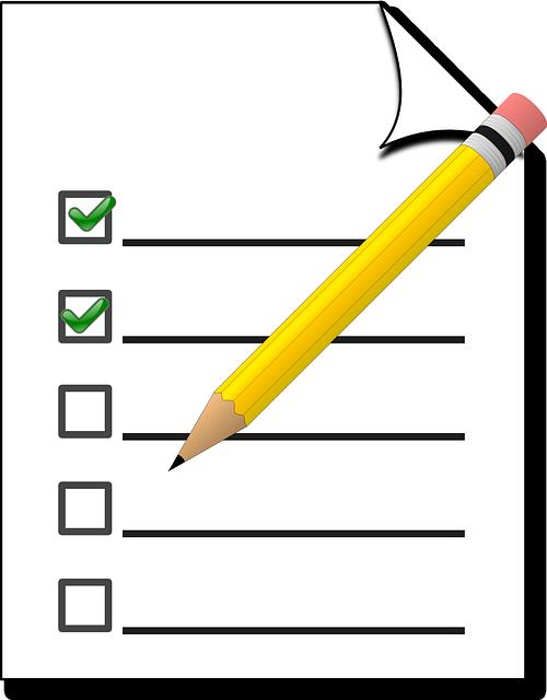 UAV Checkliste