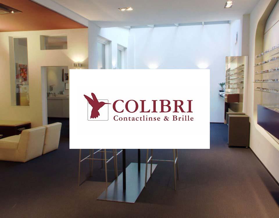 Colibri Contactlinse und Brille