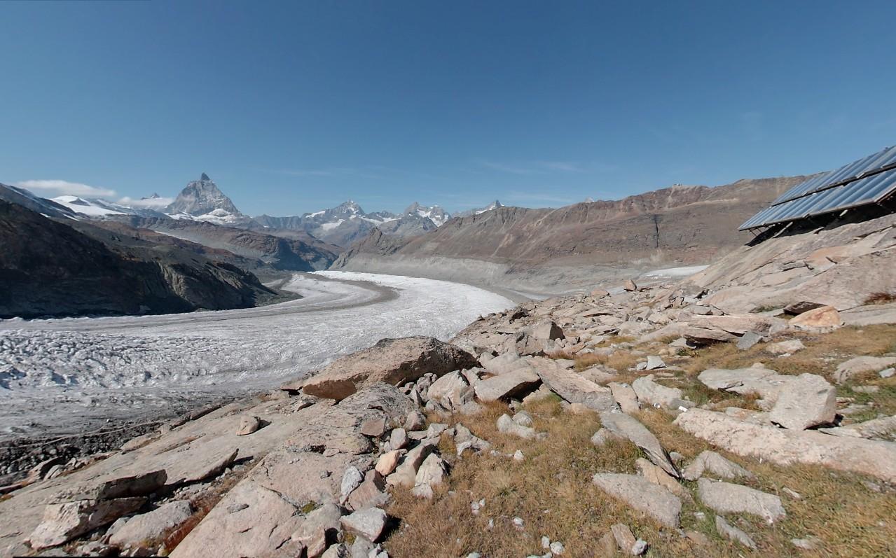 Gornergletscher – Neue Monte Rosa Hütte