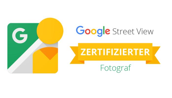 Google Street View - Zertifizierter Fotograf(in)