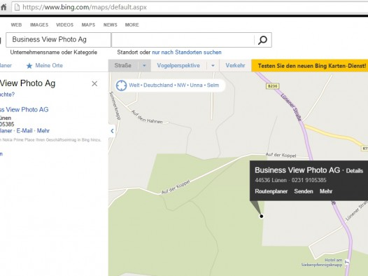 Bing Karte.Bing Places For Business Google Street View Von Innen