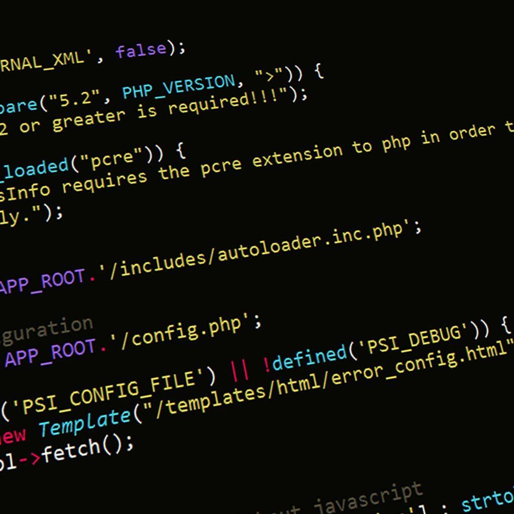 HTML Code, Programmierung