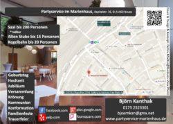 Neuss Partyservice im Marienhaus