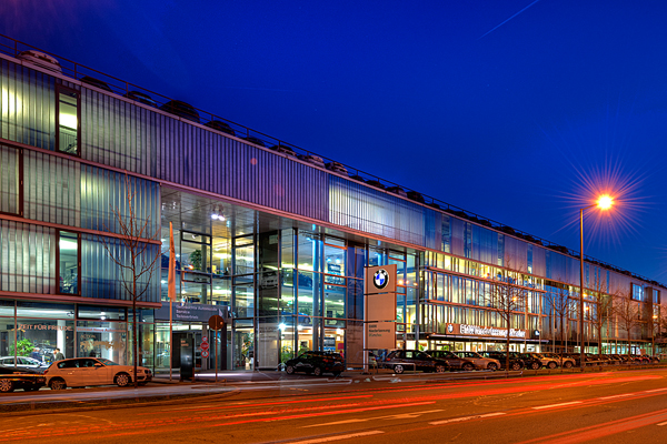 BMW Niederlassung München Filiale Fröttmaning