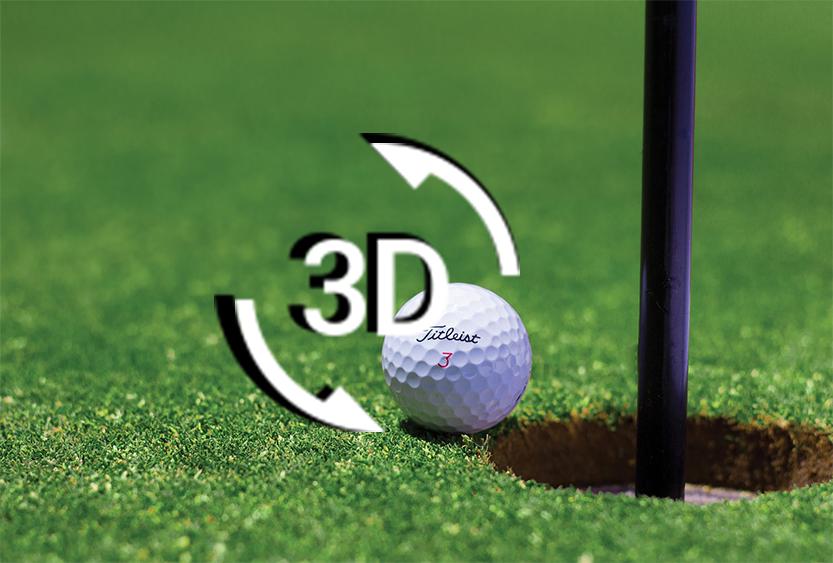Golfplatz 3D 360 Grad