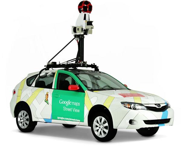 Google Kammerafahrzeug