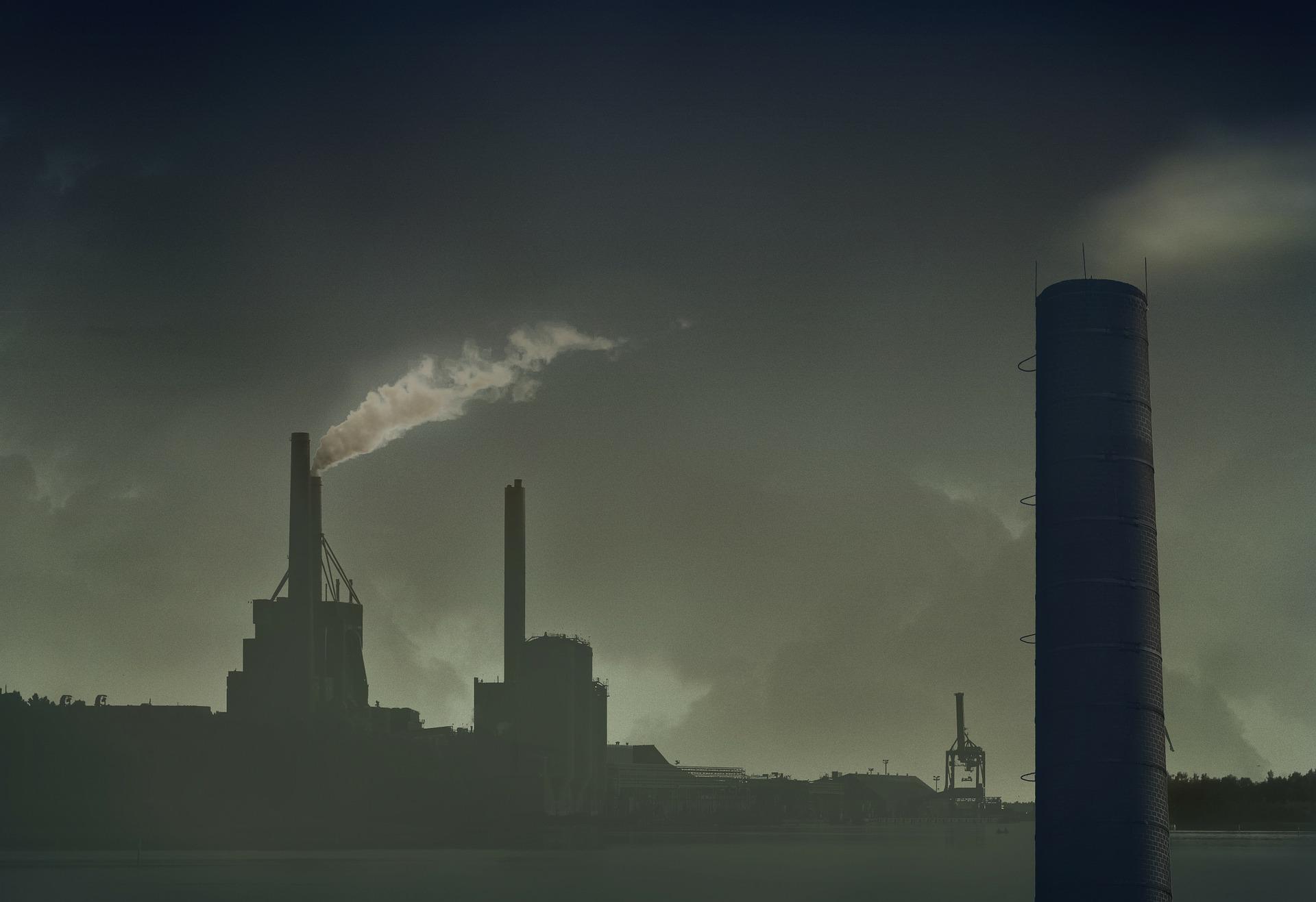 Schornstein Verschmutzung Luftverschmutzung Umwelt