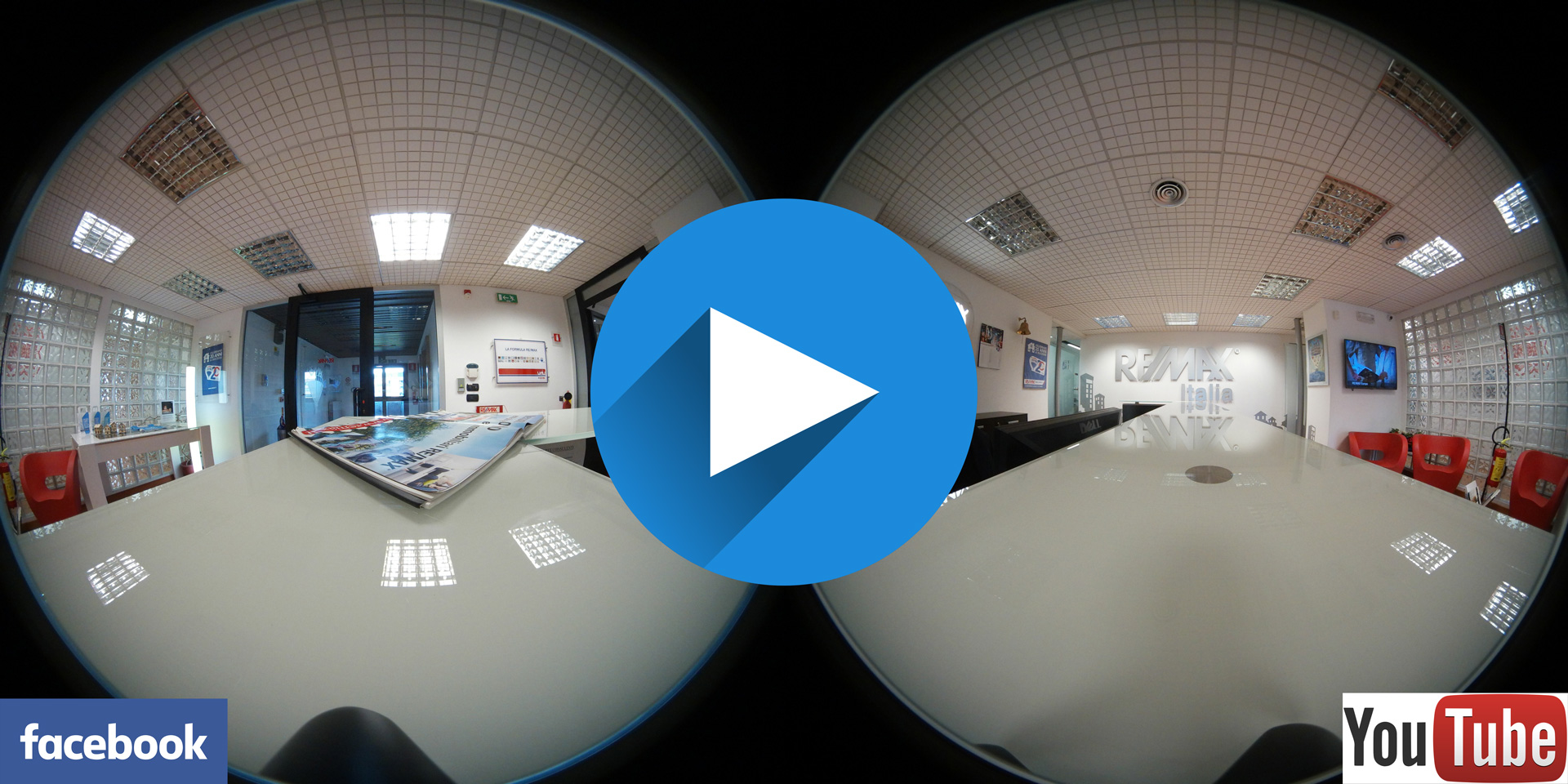 Sphärischen 360-Grad-Video