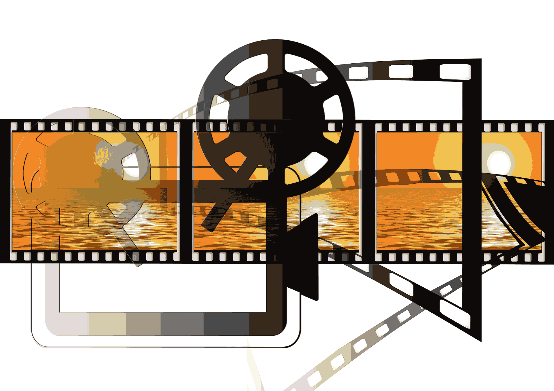 Video Film Projektor