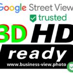 3D & HD ready Logo Google Street View