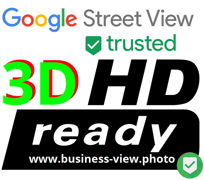 3D & HD ready Logo Google Street View