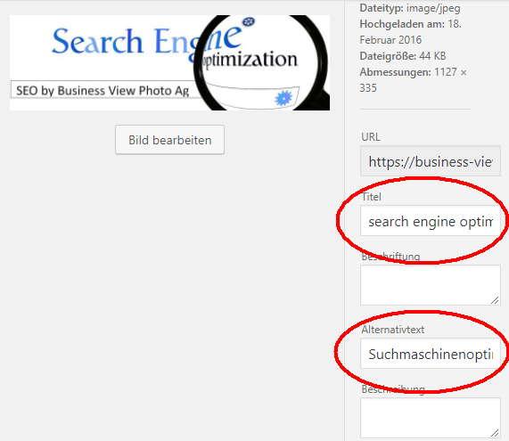 wordpress suchmaschinen optimierung