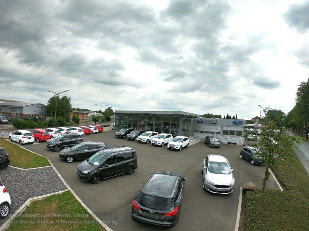 Ford Autocentrum Wenner Werne, Luftbild