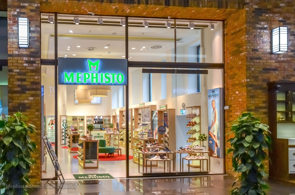 MEPHISTO-Shop :: Mall of Berlin