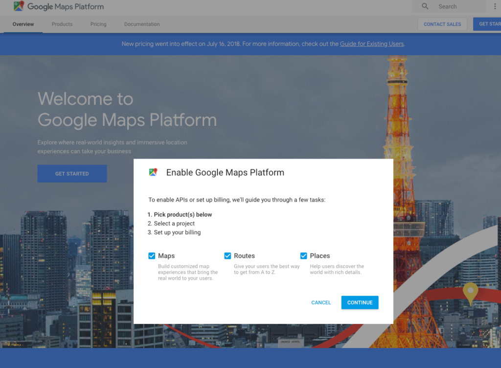 Google Maps wird auf Webseiten nicht mehr korrekt angezeigt (Google on