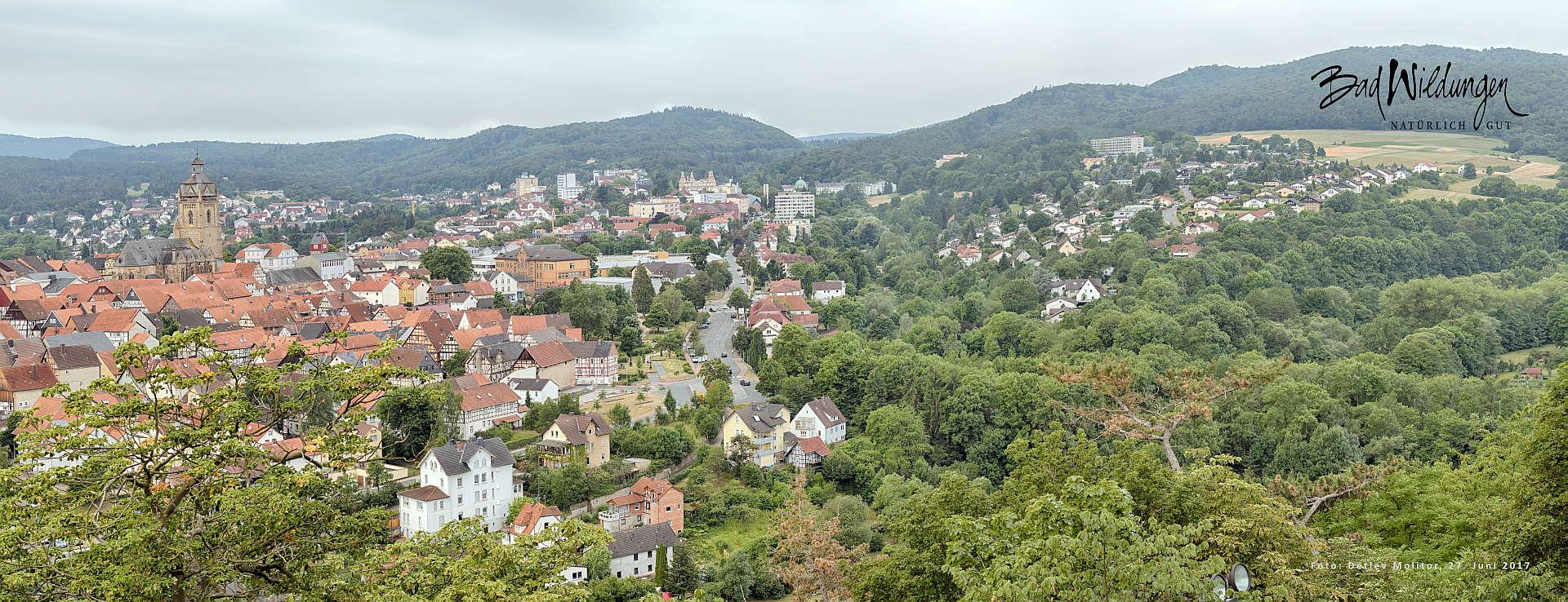 Panorama Bad Wildungen