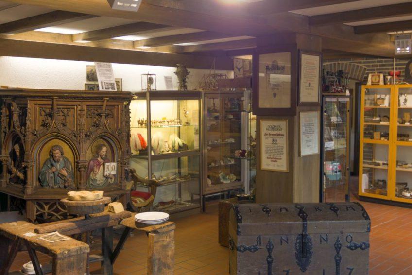 Heimatmuseum Waltrop Ausstellungsraum