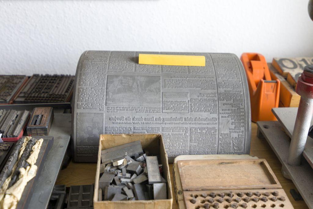 Druckerei Historisch