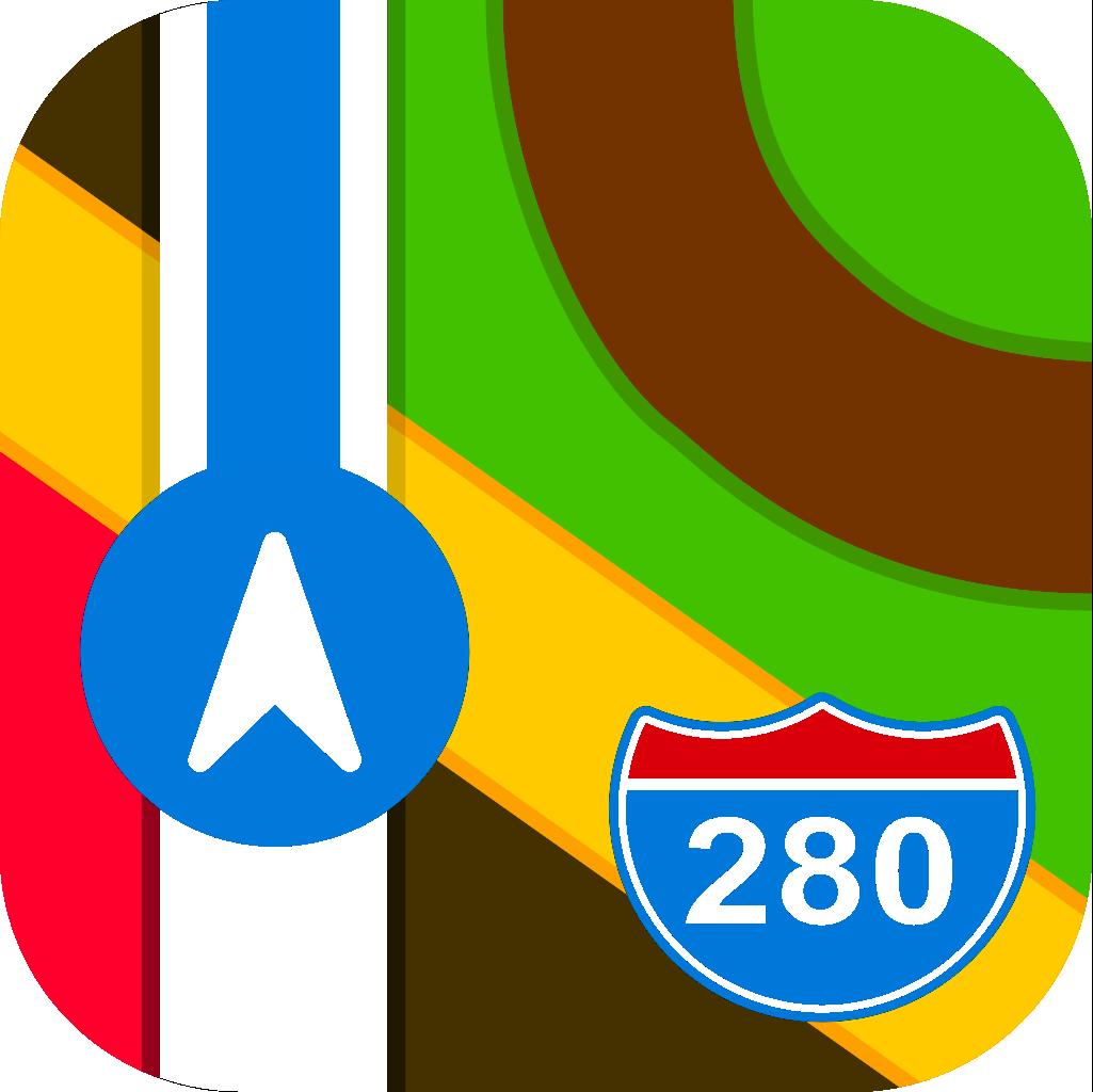AppleMaps logo
