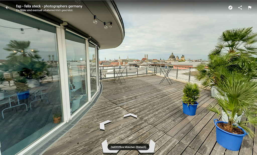 Google Street View Trusted ansicht