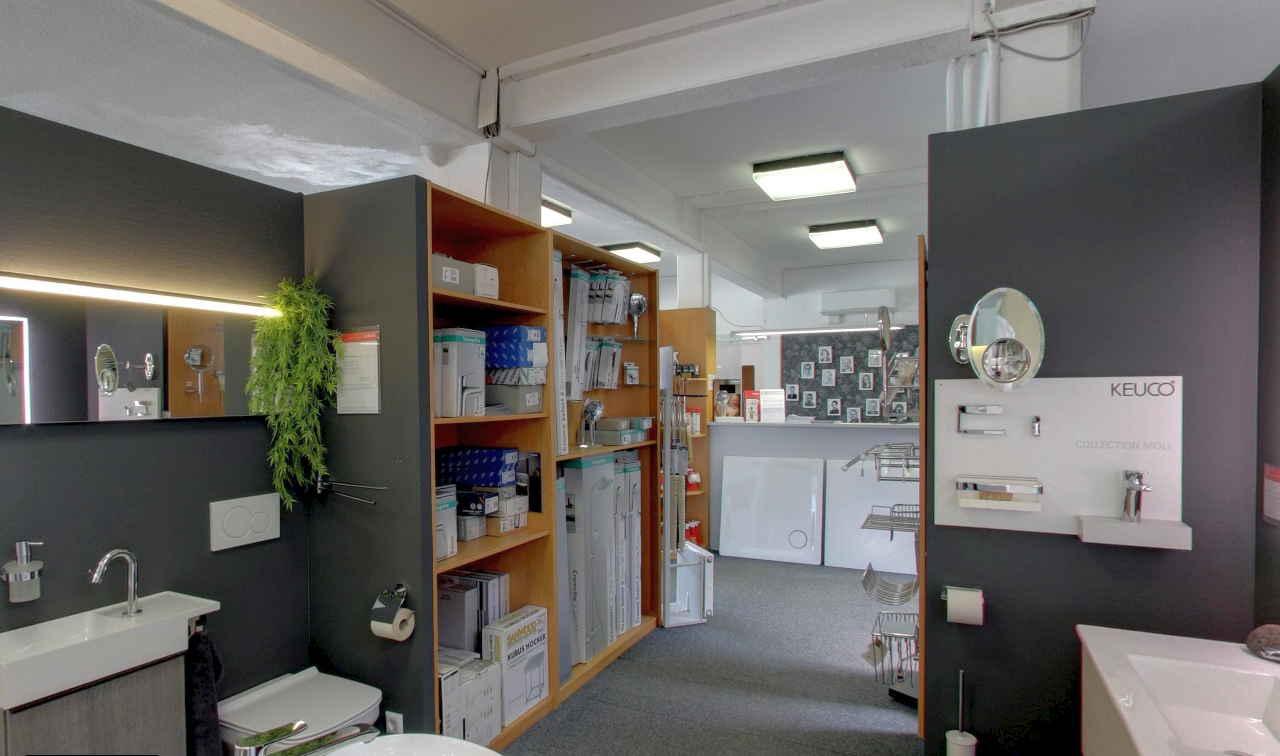 Austellung Bäder K. Frantz GmbH