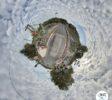 Schwimmbrücke Dahlhausen Little Planet