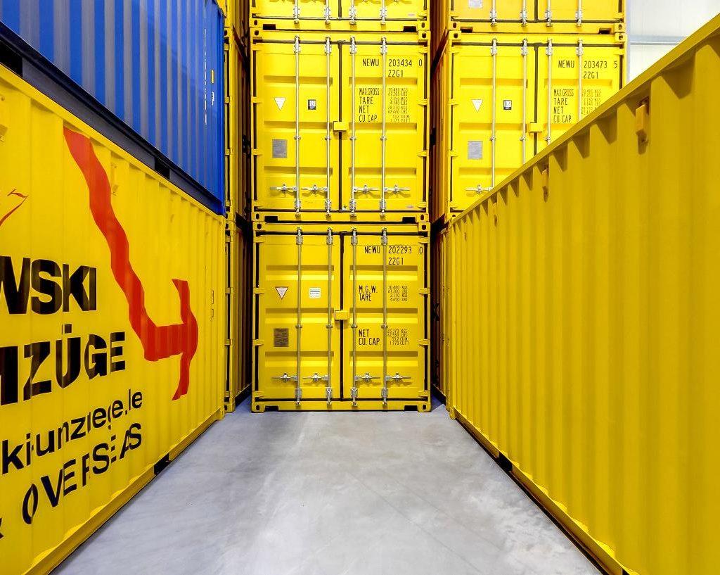 umzug container alfred