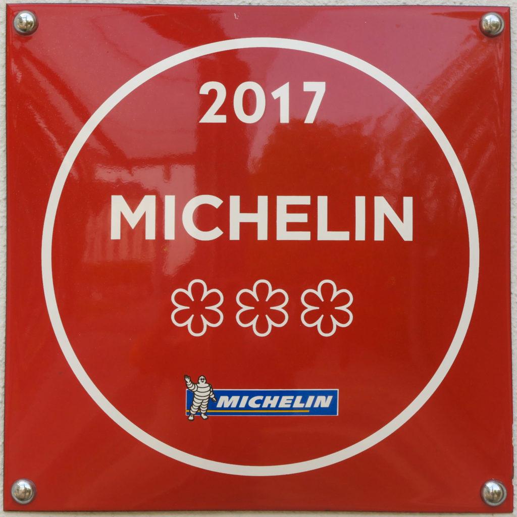 Guide Michelin, 3 Sterne 2017