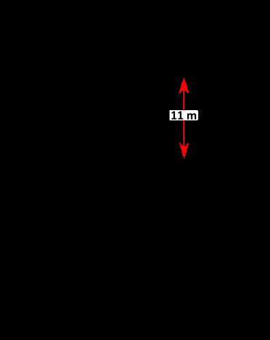 Donaumast Hochspannungsmast